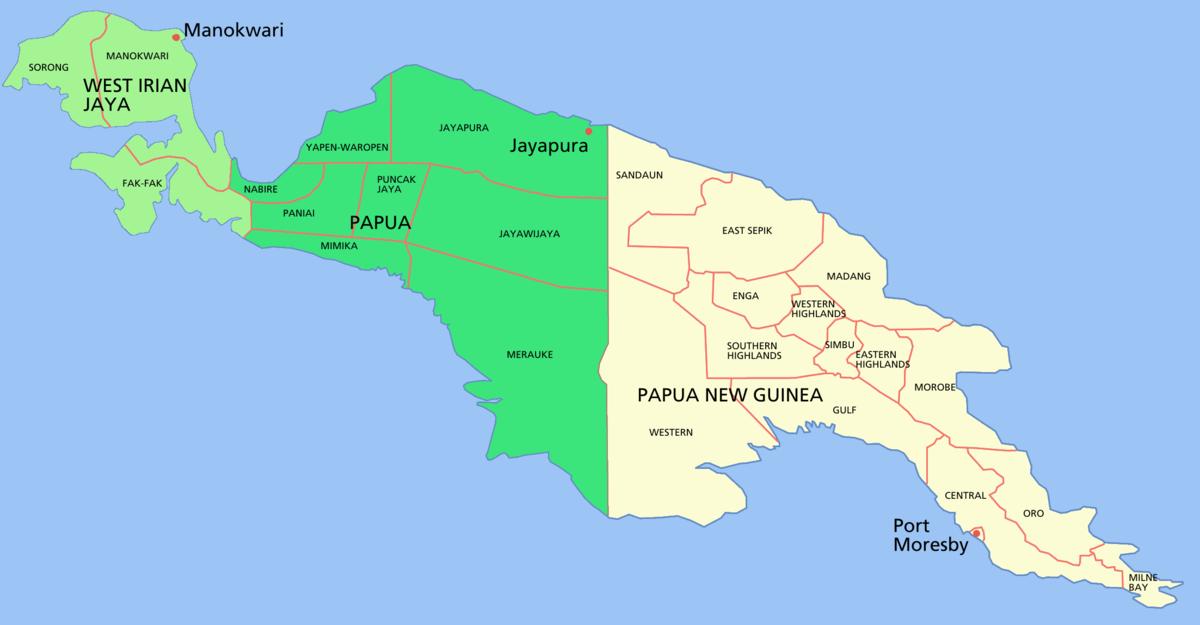 Hasil carian imej untuk peta papua